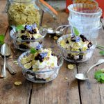 Topsy Turvy Blackcurrant Cheesecake Trifles for Easter!