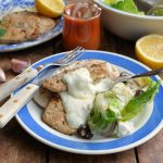 Greek Style Pork Steaks with Garlic Skyr Sauce