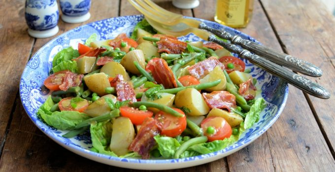 Bacon, New Potato & Green Bean Salad