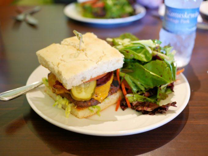 Wanuskewin Heritage ParkBison Bannock Burger