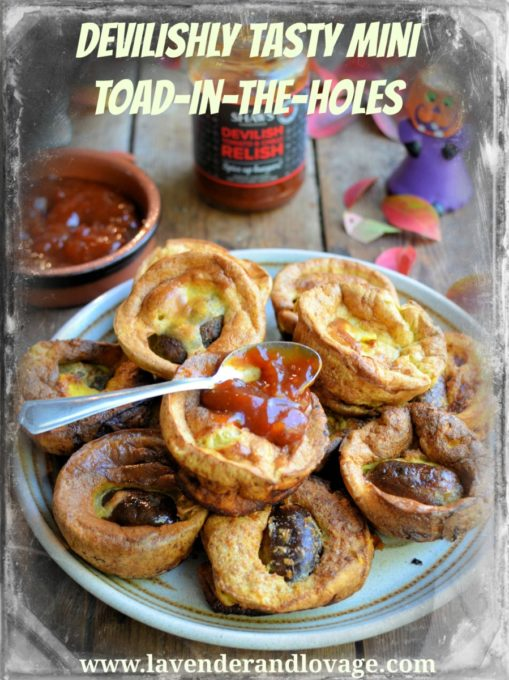 Devilishly Tasty Mini Toad-in-the-Holes