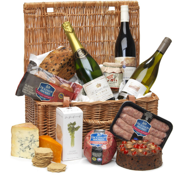 Giveaway: Luxury Pork Pie, Cheese & Wine Hamper:Win a Dickinson & Morris Luxury Hamper filled with Pork Pies,Cheese,Cake,Sausages,Crackers,Relish & Wine!