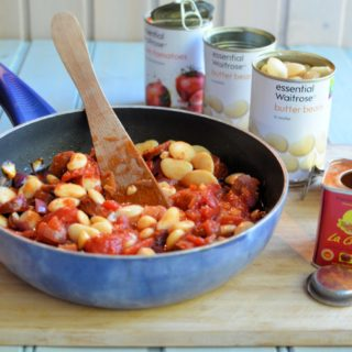 Smoky Chorizo and Butter Bean Hot Pot