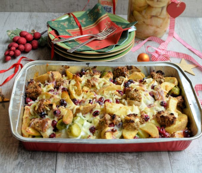 Using Christmas Day lunch leftovers for Boxing Day Brunch, this tasty recipe is easy to make and can be adapted to whatever veggies you have to hand.