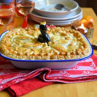 Christmas Eve Fireside Supper Chicken & Ham Pie