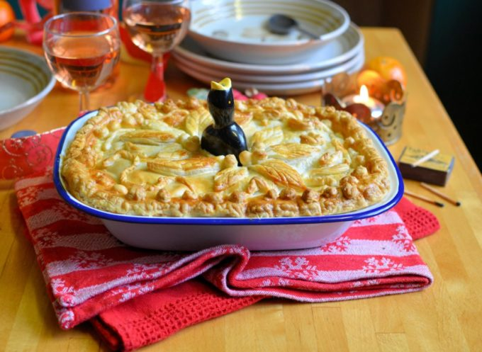Christmas Eve Chicken & Ham Pie