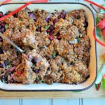 Sausage, Cranberry, Red Onion & Walnut Stuffing