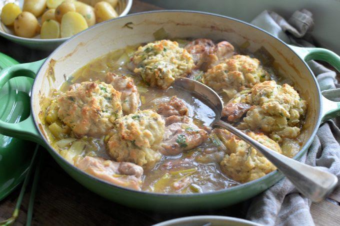 Welsh Leek and Chicken Casserole