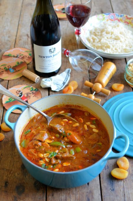 Durban Style Lamb Curry with Apricots