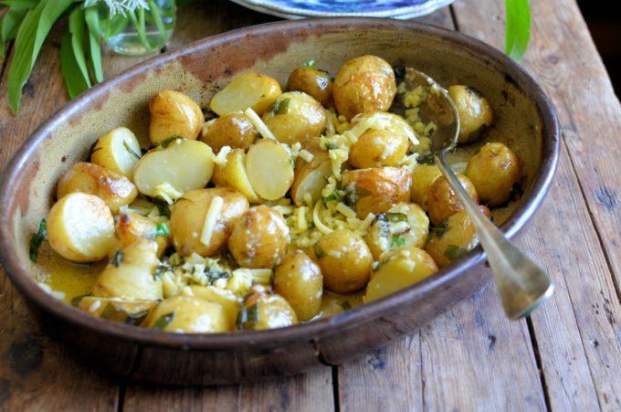 Cheesy Roast Potatoes