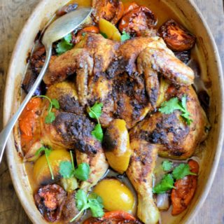 Maghreb Chicken with Preserved Lemons