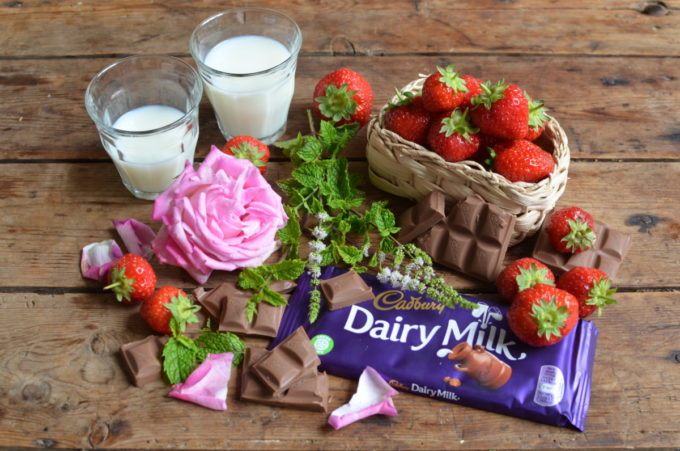 "Dairy Milk ""A Summer Country Garden"" chocolate bar."