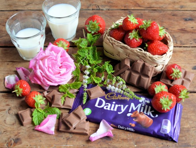 A Summer Country Garden Chocolate Bar