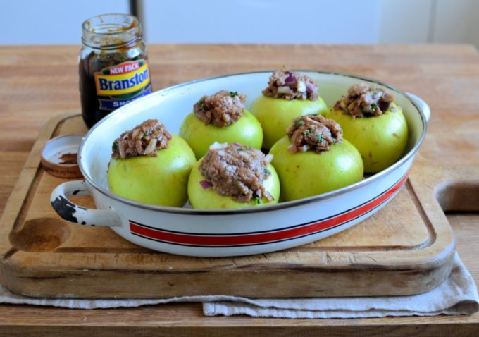 Savoury Baked Apples