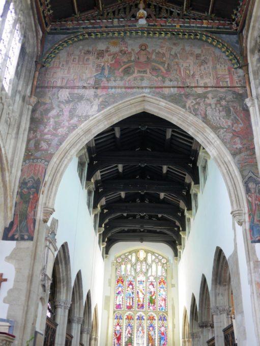 Doom Painting St Thomas's Salisbury