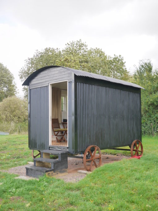 Shepherd's Hut Marshwood Farm