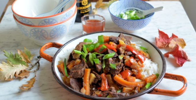 Mongolian Beef for Crocktober