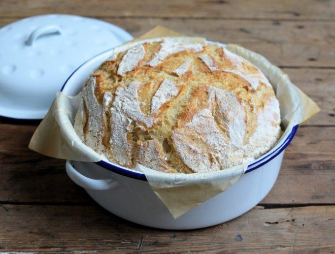 Enamel Pot Bread