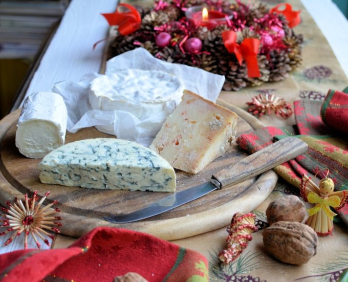 Cheese Board for Christmas