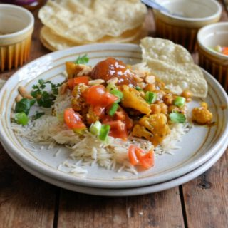 Toasted Cauliflower and Chickpea Curry