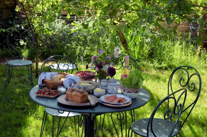 My garden in France