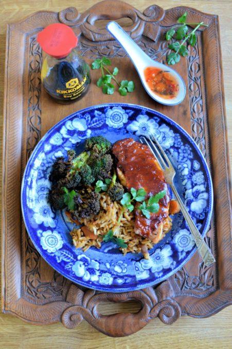 Hoisin Pork and Rice