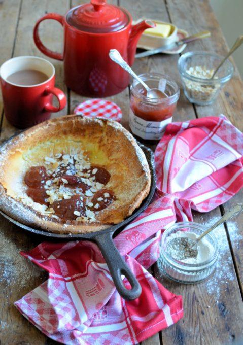 Oven Baked Pancake